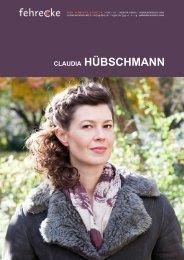 CLAUDIA HÜBSCHMANN - Fehrecke