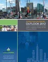 OUTLOOK 2012 - Downtown Partnership of Baltimore