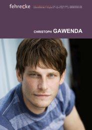 CHRISTOPH GAWENDA