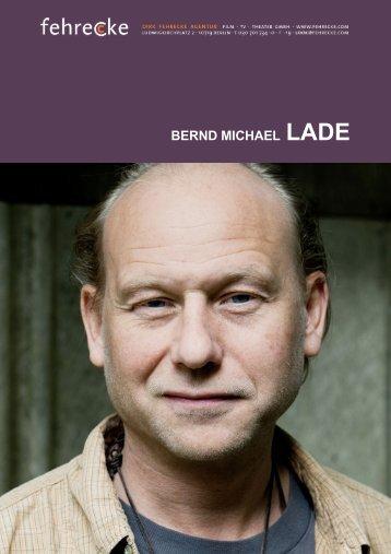 BERND MICHAEL LADE - Fehrecke