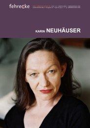 KARIN NEUHÄUSER - Fehrecke