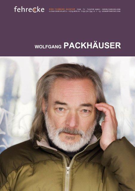 WOLFGANG PACKHÄUSER - Fehrecke