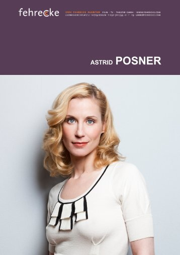 ASTRID POSNER - Fehrecke