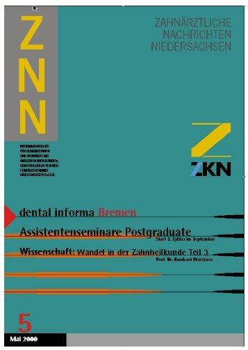 leitartikel - Zahnärztekammer Niedersachsen