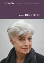 NICOLE HEESTERS - Fehrecke