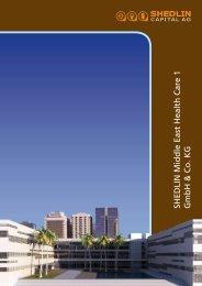 Emissionsprospekt - SHEDLIN Investment AG