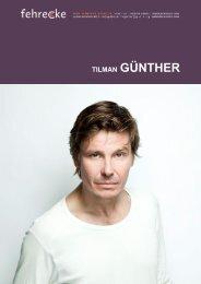 TILMAN GÜNTHER - Fehrecke