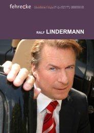 RALF LINDERMANN - Fehrecke