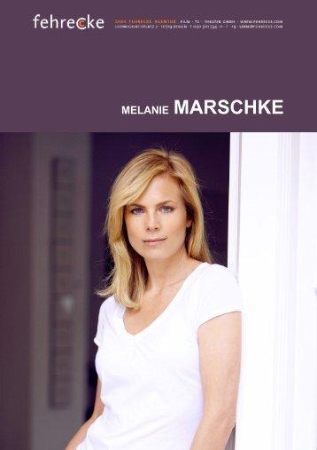 MELANIE MARSCHKE - Fehrecke