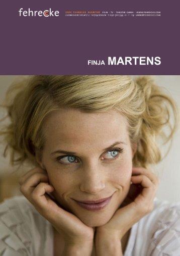 FINJA MARTENS - Fehrecke