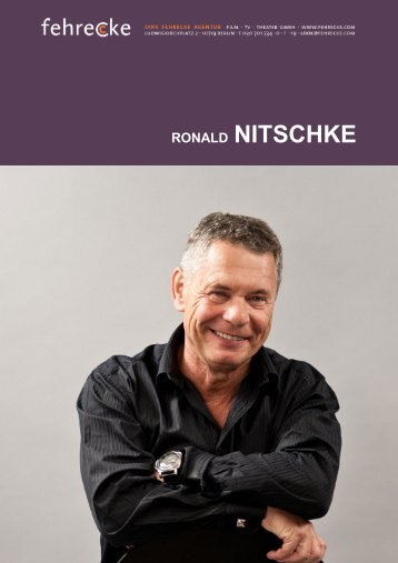 RONALD NITSCHKE - Fehrecke