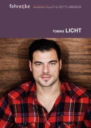 TOBIAS LICHT - Fehrecke