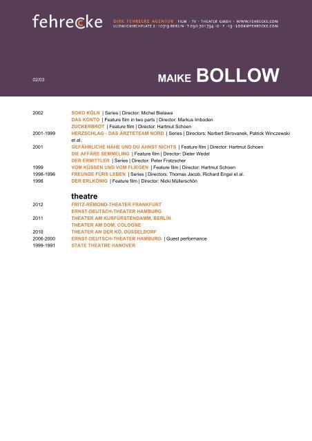 MAIKE BOLLOW