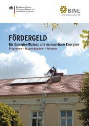 Fördergeld für Energieeffizienz und  erneuerbare ... - Dachfix.de