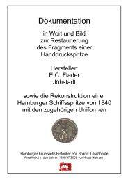 Dokumentation - Hamburger Feuerwehr-Historiker