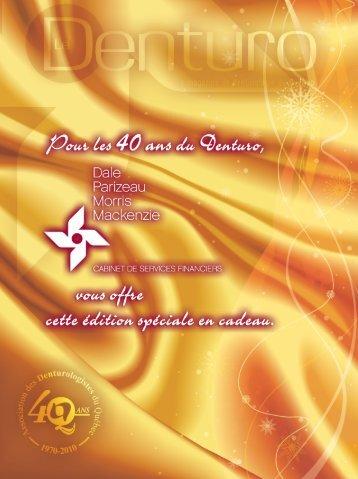 (450) 646.1350 ou 1 - Association des denturologistes du Québec