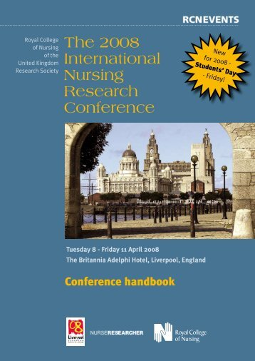 The 2008 International Nursing Research Conference