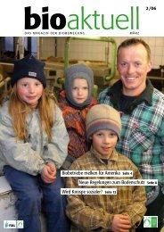 Biobetriebe melken für Amerika Seite 4 Neue ... - bioaktuell.ch