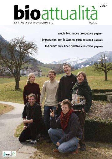 Scuola bio: nuove prospettive pagina 4 Importazioni ... - Bioattualità