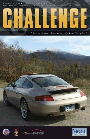 Challenge November - Connecticut Valley Region Porsche Club of ...