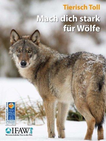 Mach dich stark für Wölfe