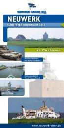 NEUWERK ab Cuxhaven - Reederei Cassen Eils