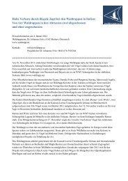 Waldrapp-Abschuss_2011 12 29 Press Release ... - DO-G