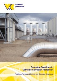 Complete Solutions to Cathodic Corrosion Protection - vc-austria.com