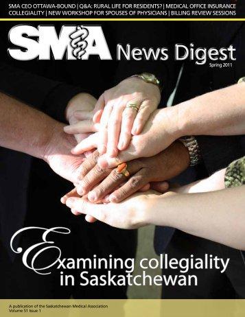 Examining collegiality in Saskatchewan - Saskatchewan Medical ...