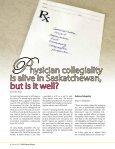 Examining collegiality in Saskatchewan - Saskatchewan Medical ... - Page 6