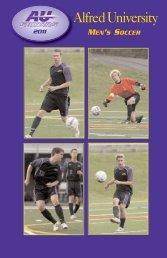 MEN'S SOCCER - Alfred University Athletics
