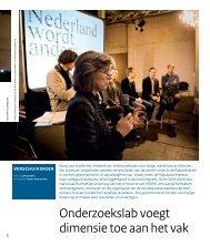 Onderzoekslab voegt dimensie toe aan het vak - Nederland Wordt ...