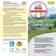 SAMSTAG 7. JULI 2012 - Chastelbach