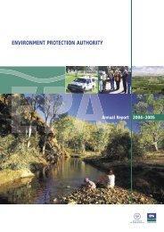 ENVIRONMENT PROTECTION AUTHORITY - EPA