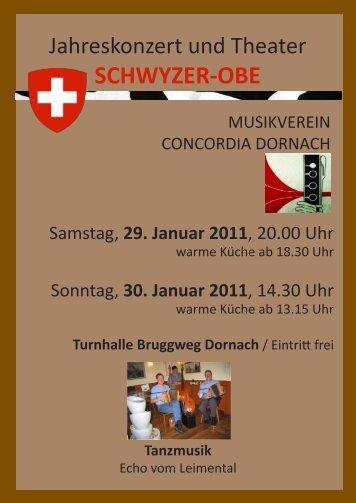 SCHWYZER-OBE - Musikverein Concordia Dornach