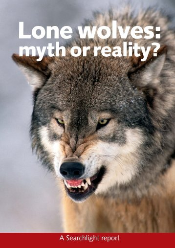 Lone wolves: myth or reality?