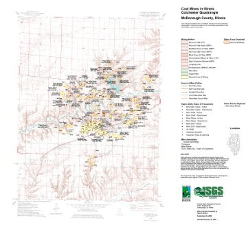 DIRECTORY OF COAL MINES IN ILLINOIS 7.5-MINUTE ...