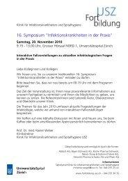 16. Symposium