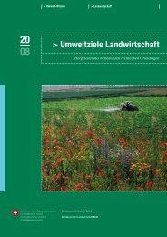 Umweltziele Landwirtschaft - Bundesamt für Umwelt
