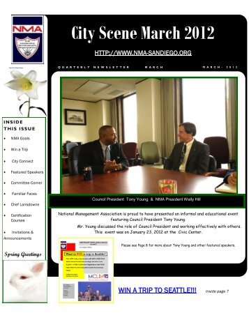 City Scene March 2012 - National Management Association City of ...