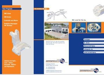 Firmenprospekt als PDF - Feinmechanik Zimmermann GmbH CNC ...