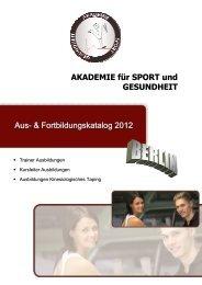 Kinesiologisches Taping - Akademie für Sport und Gesundheit