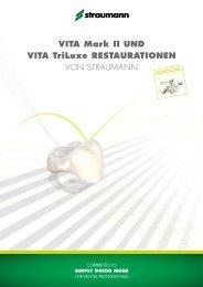 VITA Mark II und VITA TriLuxe Restaurationen von - bei Straumann ...