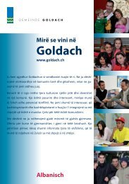 Goldach - Integration