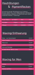 Kosmetik - Wellness - Bodystyling - Matuschka - Seite 5