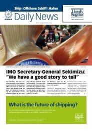What is the future of shipping? - Ship - Shipandoffshore.net