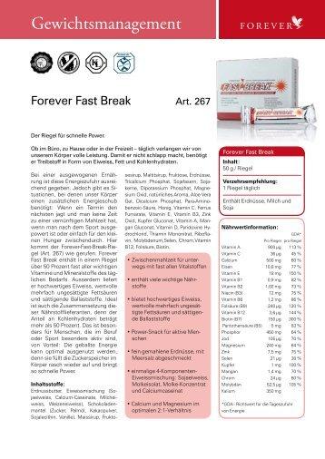 Forever Fast Break - Aloe Vera Ostschweiz