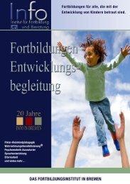 Das Kursprogramm Jetzt als PDF herunterladen - INFO in Bremen