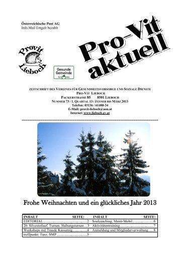 31.12.2012 um 14 Uhr Ort - Lieboch