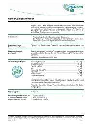 Osteo Calbon Komplex - Biogena Deutschland GmbH
